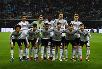 Mannschaftsfoto Deutschland - 15.11.2018: Deutschland vs. Russland, Red Bull Arena Leipzig, Freundschaftsspiel DISCLAIMER: DFB regulations prohibit any use of photographs as image sequences and/or quasi-video.