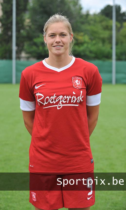 FC Twente Dames : Anouk Dekker.foto DAVID CATRY / Vrouwenteam.be