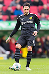 18.01.2020, WWK Arena, Muenchen, GER, 1.FBL,  FC Augsburg vs. Borussia Dortmund, DFL regulations prohibit any use of photographs as image sequences and/or quasi-video, im Bild Mats Hummels (BVB #15) <br /> <br /> Foto © nordphoto / Straubmeier
