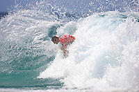 Mick Fanning (AUS) won the Quiksilver Pro Gold Coast 2005 defeating Chris Ward (USA) in the final held at Snapper Rocks, Coolangatta, Queensland, Australia. Photo: joliphotos.com