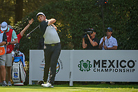 Jon Rahm (ESP) watches his tee shot on 12 during round 1 of the World Golf Championships, Mexico, Club De Golf Chapultepec, Mexico City, Mexico. 3/1/2018.<br /> Picture: Golffile | Ken Murray<br /> <br /> <br /> All photo usage must carry mandatory copyright credit (&copy; Golffile | Ken Murray)