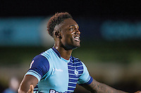 Anthony Stewart of Wycombe Wanderers during the The Checkatrade Trophy Southern Group D match between Wycombe Wanderers and Coventry City at Adams Park, High Wycombe, England on 9 November 2016. Photo by Andy Rowland.