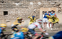cheering them on<br /> <br /> Stage 11 from Châtelaillon-Plage to Poitiers (168km)<br /> <br /> 107th Tour de France 2020 (2.UWT)<br /> (the 'postponed edition' held in september)<br /> <br /> ©kramon