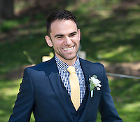 Smiling Groom.
