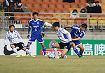 Suwon Samsung Bluewings FC vs Gamba Osaka during their 2016 AFC Champions League Group G match on February 24, 2016 at the Suwon World Cup Stadium in Suwon, South Korea. Photo by Lee Jae-Won / Power Sport Images