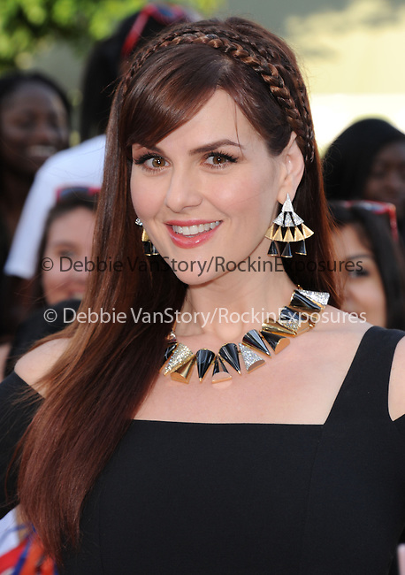 Sara Rue attends The Columbia Pictures' 22 JUMP STREET Premiere held at The Regency Village Theatre in Westwood, California on June 10,2014                                                                               © 2014 Hollywood Press Agency
