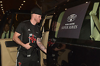 George Groves arrives ahead of a Boxing Show at King Abdullah Sports City on 28th September 2018