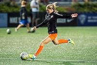 Allston, MA - Wednesday Aug. 31, 2016: Kealia Ohai prior to a regular season National Women's Soccer League (NWSL) match between the Boston Breakers and the Houston Dash at Jordan Field.