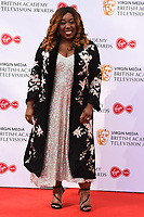 LONDON, UK. May 12, 2019: Chizzy Akudolu arriving for the BAFTA TV Awards 2019 at the Royal Festival Hall, London.<br /> Picture: Steve Vas/Featureflash