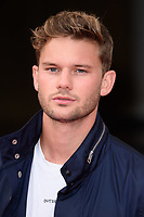 "Jeremy Irvine<br /> arriving for the premiere of ""The Wife"" at Somerset House, London<br /> <br /> ©Ash Knotek  D3418  09/08/2018"