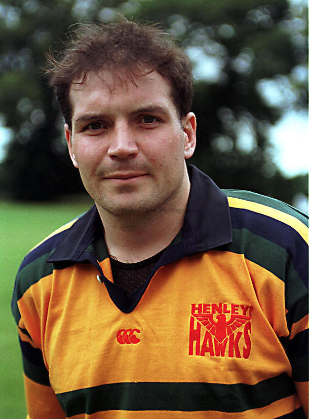 Photo Richard Lane. .Henley Hawks 22/8/98. Grant Taylor, Henley's new Australian signing.