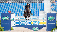 AUS-Christopher Burton rides Cooley Lands during the Showjumping for the FEI World Team and Individual Eventing Championship. 2018 FEI World Equestrian Games Tryon. Monday 17 September. Copyright Photo: Libby Law Photography
