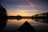 """Suzanette Lake Sunrise Paddle""<br />