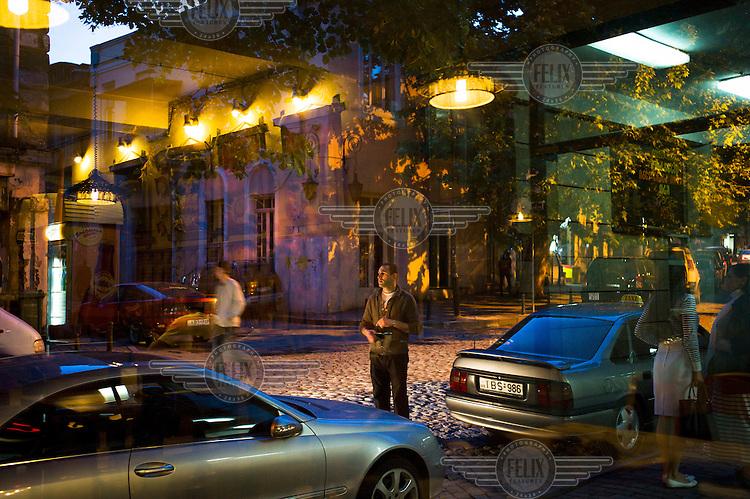 A Tbilisi street scene.