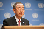 UN SG Ban Press conference Sep 03 2013