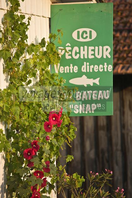 Europe/France/Aquitaine/33/Gironde/Bassin d'Arcachon/ Le Cap Ferret : Détail Cabanons ostréicoles