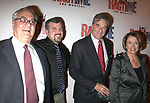 """Barney Frank with Partner, Paul Pelosi & Nancy Pelosi<br />attending the Opening Night Performance after party for the Broadway Musical """"RAGTIME"""" at Tavern On The Green Restaurant in New York City. November 15, 2009"""