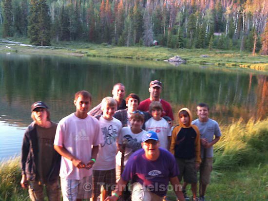 scout camp. Camp Frontier. Tuesday, July 21 2009.ben hacker, unruh, watchman, perry hacker, trent nelson, Noah Nelson, chandler, sam hacker,