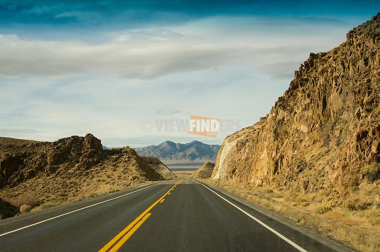 Highway 50 in Nevada.