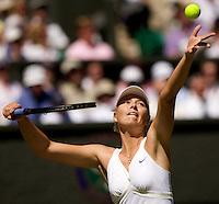 Maria Sharapova (Rus) (24) against Gisela Dulko (ARG) in the second round of the ladies singles. Dulko beat Sharapova 6-2 3-6 6-4..Tennis - Wimbledon - Day 3 - Wed  24th June 2009 - All England Lawn Tennis Club  - Wimbledon - London - United Kingdom..Frey Images, Barry House, 20-22 Worple Road, London, SW19 4DH.Tel - +44 20 8947 0100.Cell - +44 7843 383 012