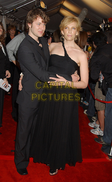 DAVE GALAFASSI & TONI COLETTE.At the 'In Her Shoes' Premiere,.The Toronto Film Festival,.Toronto, 14th September 2005.full length black dress shoulder strap suit couple.Ref: ADM/LF.www.capitalpictures.com.sales@capitalpictures.com.© Capital Pictures.