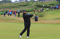 Shane Lowry (IRL) on the 12th during the preview of the the 148th Open Championship, Portrush golf club, Portrush, Antrim, Northern Ireland. 17/07/2019.<br /> Picture Thos Caffrey / Golffile.ie<br /> <br /> All photo usage must carry mandatory copyright credit (© Golffile | Thos Caffrey)