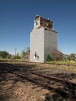 Old silo in Cascade, Montana.