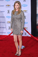 """HOLLYWOOD, LOS ANGELES, CA, USA - MARCH 13: Emily VanCamp at the World Premiere Of Marvel's """"Captain America: The Winter Soldier"""" held at the El Capitan Theatre on March 13, 2014 in Hollywood, Los Angeles, California, United States. (Photo by Xavier Collin/Celebrity Monitor)"""