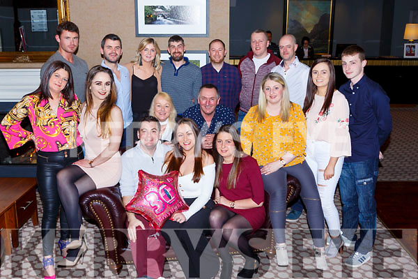 Grace Moore Newcastle West celebrated her 30th birthday with her family and friends in Scotts Hotel Killarney on Saturday night
