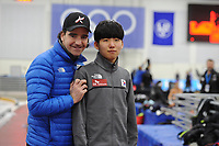 SPEEDSKATING: SALT LAKE CITY: 07-12-2017, Utah Olympic Oval, training ISU World Cup, Bob de Jong, ©photo Martin de Jong