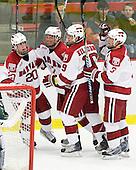 Louis Leblanc (Harvard - 20), Michael Biega (Harvard - 27), Alex Killorn (Harvard - 19), Alex Biega (Harvard - 3) - The Harvard University Crimson defeated the Dartmouth College Big Green 4-1 (EN) on Monday, January 18, 2010, at Bright Hockey Center in Cambridge, Massachusetts.