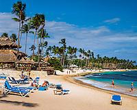 Dominikanische Republik, Bayahibe, Capella Beach Resort, Strand   Dominican Republic, Bayahibe, Capella Beach Resort