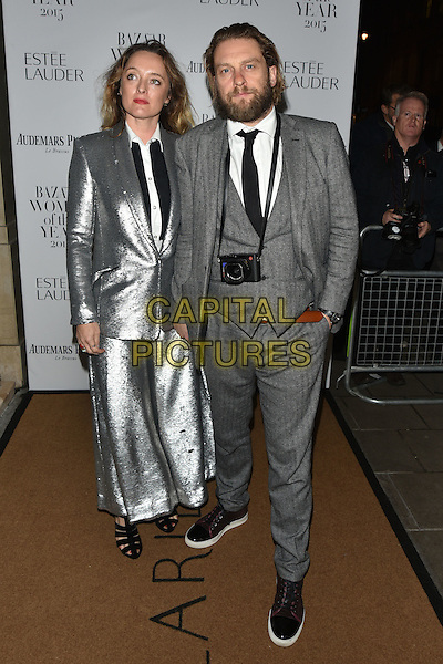 Alice Temperley and Greg Williams <br /> Harper's Bazaar Women of the Year 2015 awards,  Claridges Hotel n London, November 03, 2015.<br /> CAP/PL<br /> &copy;Phil Loftus/Capital Pictures