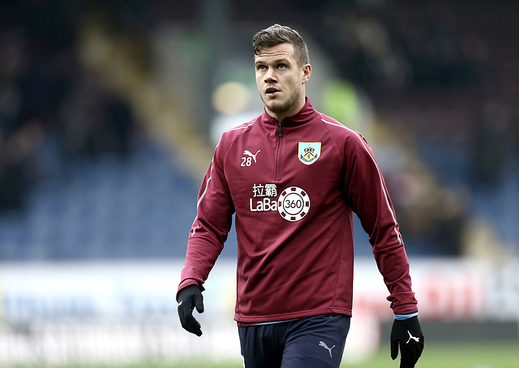 Burnley's Kevin Long during the pre-match warm-up <br /> <br /> Photographer Rich Linley/CameraSport<br /> <br /> The Premier League - Burnley v Everton - Wednesday 26th December 2018 - Turf Moor - Burnley<br /> <br /> World Copyright © 2018 CameraSport. All rights reserved. 43 Linden Ave. Countesthorpe. Leicester. England. LE8 5PG - Tel: +44 (0) 116 277 4147 - admin@camerasport.com - www.camerasport.com