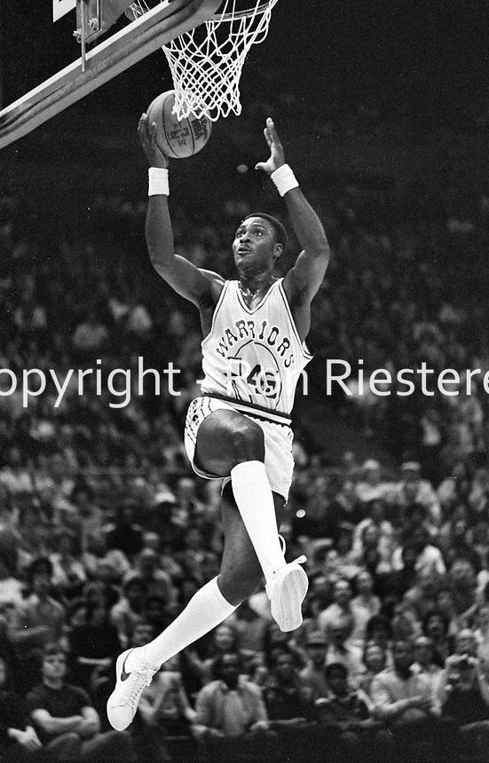 Golden State Warrior Purvis Short..(1982 photo/Ron Riesterer)