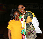 Stephanie Pope with her daughter Mari   attending the Broadway Opening Night Gypsy Robe Ceremony honoring Stephanie Pope for 'Pippin' at the Music Box Theatre in New York City on 4/25/2013