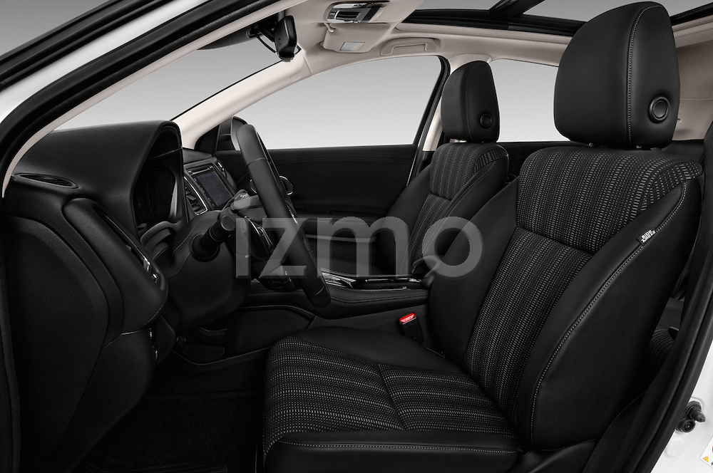 Front seat view of 2016 Honda HRV Executive 5 Door Suv Front Seat  car photos