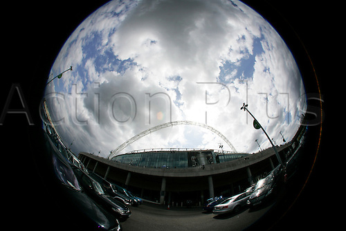 15/05/2010 FA Cup Final Chelsea v Portsmouth. The famous arch at Wembley.