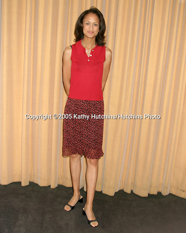 Anne-Marie Johnson.SAG Press Conference marking 15th Anniv of Disabilities Act.Los Angeles, CA.July 26, 2005.©2005 Kathy Hutchins / Hutchins Photo