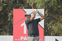 Arjun Atwal (IND) in action on the 13th during Round 2 of the Hero Indian Open at the DLF Golf and Country Club on Friday 9th March 2018.<br /> Picture:  Thos Caffrey / www.golffile.ie<br /> <br /> All photo usage must carry mandatory copyright credit (&copy; Golffile | Thos Caffrey)