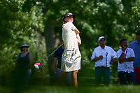 Klara Spilkova (CZE) watches her tee shot on 16 during Saturday's round 3 of the 2017 KPMG Women's PGA Championship, at Olympia Fields Country Club, Olympia Fields, Illinois. 7/1/2017.<br /> Picture: Golffile | Ken Murray<br /> <br /> <br /> All photo usage must carry mandatory copyright credit (&copy; Golffile | Ken Murray)