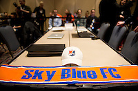 NWSL Draft, Sky Blue FC. The NWSL draft was held at the Pennsylvania Convention Center in Philadelphia, PA, on January 17, 2014.