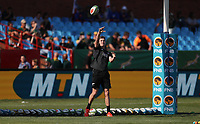 PRETORIA, SOUTH AFRICA - OCTOBER 06: Jordie Barrett of the New Zealand All Blacks during the Rugby Championship match between South Africa Springboks and New Zealand All Blacks at Loftus Versfeld Stadium. on October 6, 2018 in Pretoria, South Africa. Photo: Steve Haag / stevehaagsports.com