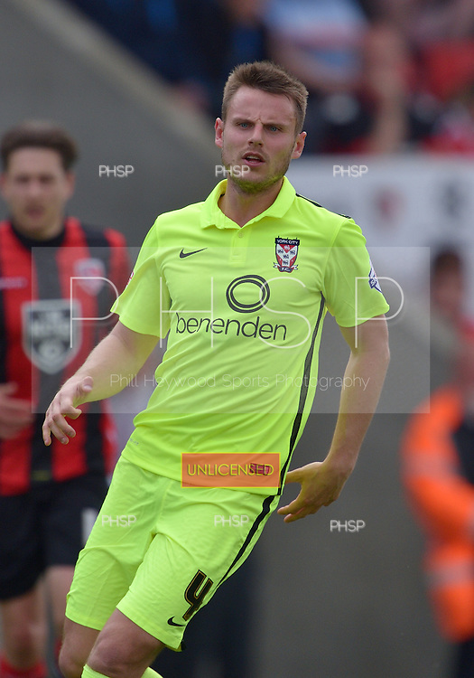 07/05/2016 Sky Bet League Two Morecambe v York City<br /> James Berrett