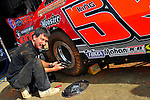Feb 04, 2010; 3:32:33 PM; Gibsonton, FL., USA; The Lucas Oil Dirt Late Model Racing Series running The 34th Annual Dart WinterNationals at East Bay Raceway Park.  Mandatory Credit: (thesportswire.net)