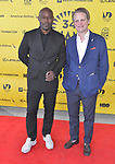 MIAMI, FL - MARCH 04: Actor Jimmy Jean-Louis and Owsley Brown attend the Miami Film Festival screening for 'Serenade for Haiti' at Regal South Beach on March 4, 2017 in Miami, Florida. ( Photo by Johnny Louis / jlnphotography.com )