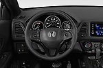 Car pictures of steering wheel view of a 2019 Honda HR-V Sport 5 Door SUV
