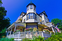 Pentagoet Inn bed and breakfast, Castine, Penobscot Bay, Maine, USA