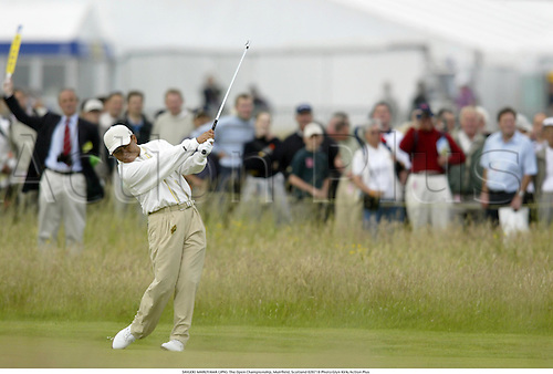 SHIGEKI MARUYAMA (JPN). The Open Championship, Muirfield, Scotland 020718 Photo:Glyn Kirk/Action Plus...Golf.2002