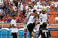 SÃO PAULO, SP,25 JANEIRO 2012 - COPA SAO PAULO DE FUTEBOL JUNIOR 2012 - <br /> durante partida entre as equipes do Corinthians x Fluminense realizada no Estádio Paulo Machado de Carvalho (SP), válido pela final da Copa São Paulo de Futebol Junior 2012, na manhã desta  quarta feira (25). (FOTO: ALE VIANNA - NEWS FREE).